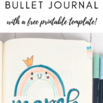 Happy rainbow bullet journal theme