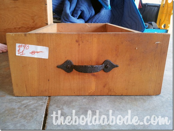 Find some vintage drawers