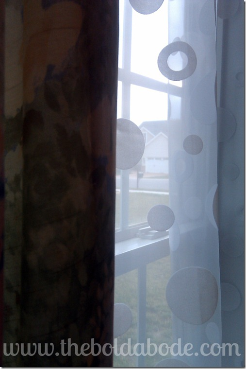 polka dot curtains 2