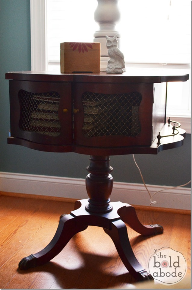 A Drum Table at The Bold Abode