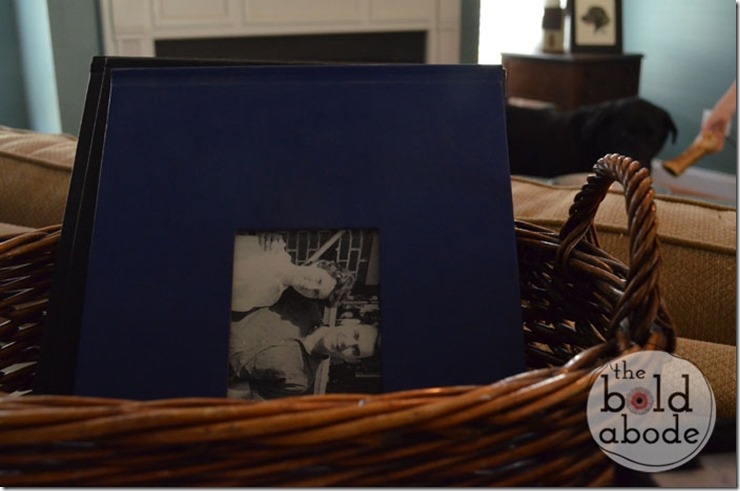 Basket of Photo Books