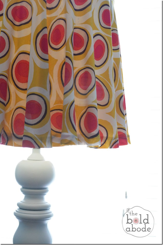 Circle Skirt Lamp Shade
