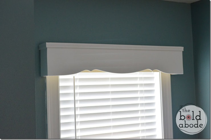 Cruved Cornice at The Bold Abode
