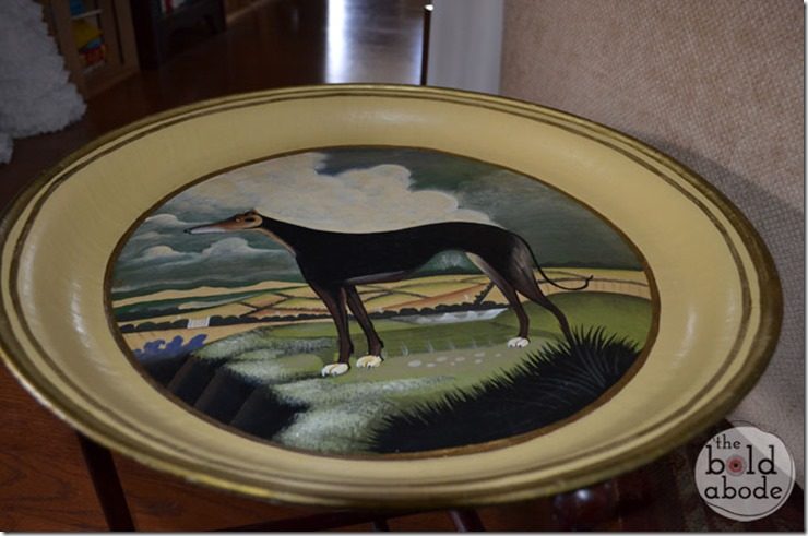 Greyhound Side Table at The Bold Abode