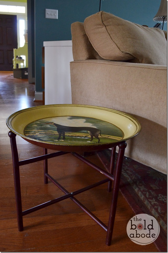 Greyhound Side Table from The Bold Abode