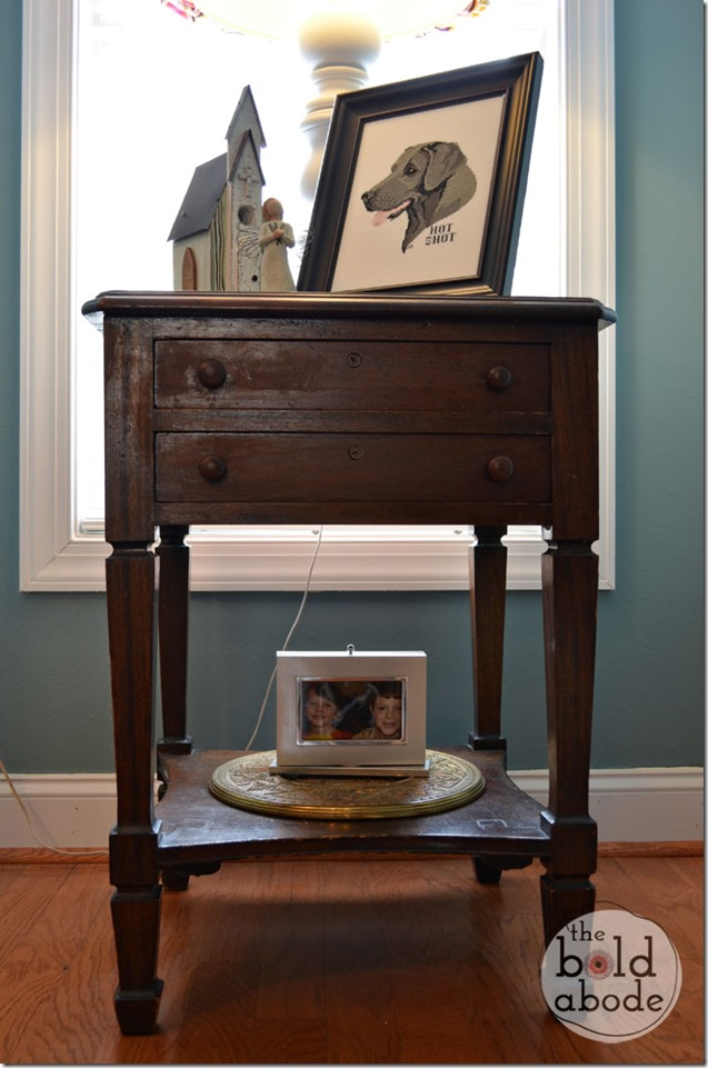 Hand-crafted Side Table at The Bold Abode
