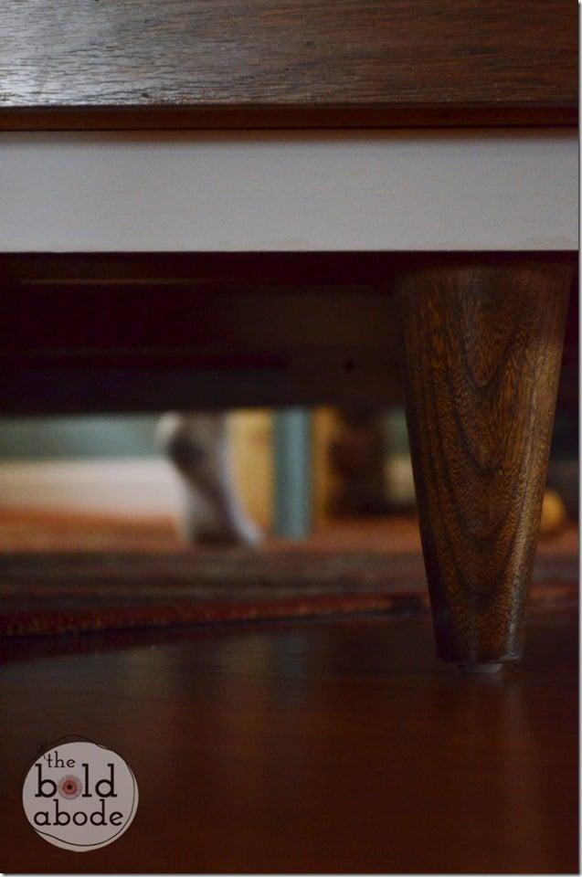 Med Dresser Foot at The Bold Abode