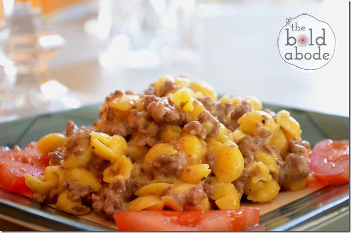 Gluent Free Cheesburger Mac
