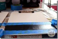 Paint 2 coats of Chalk Paint