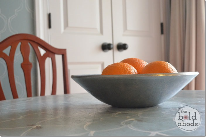 Oranges on the Breakfast Table