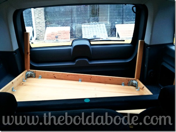 Coffee Table in Trunk