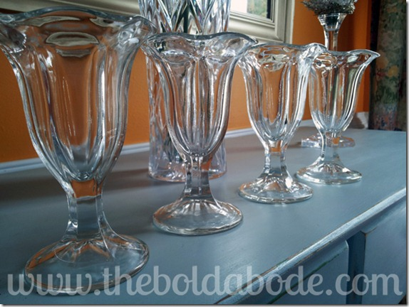 Vintage Sundae Glasses