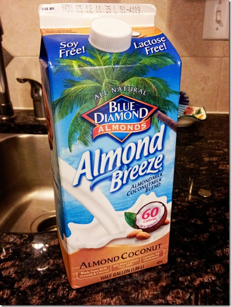 coconut almond milk
