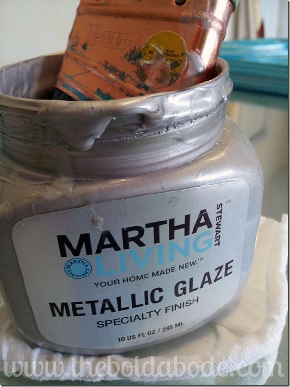 Martha Stewart Metallic Glaze