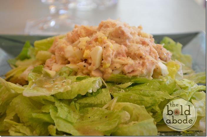 Ceasar Tuna Salad Salad
