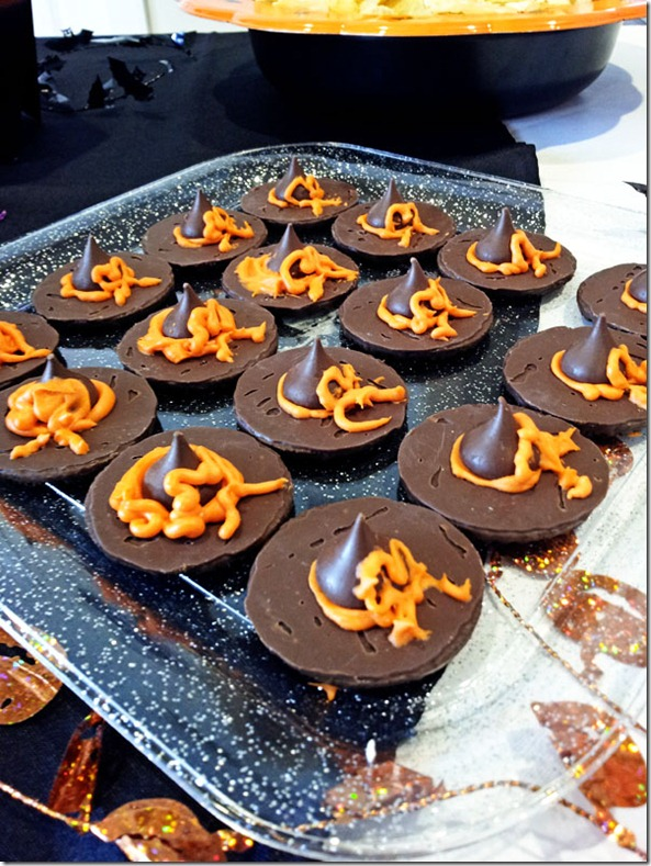 Halloween Treats: witch hats