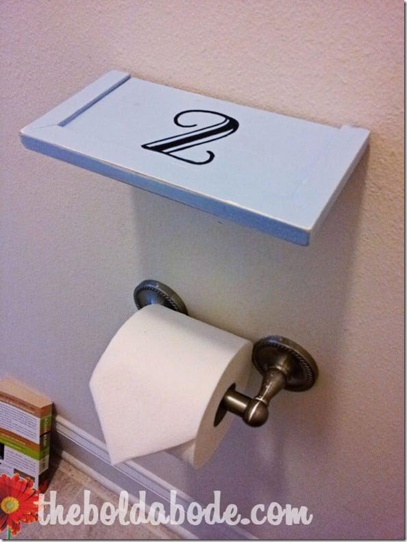 No 2 Bathroom Shelf