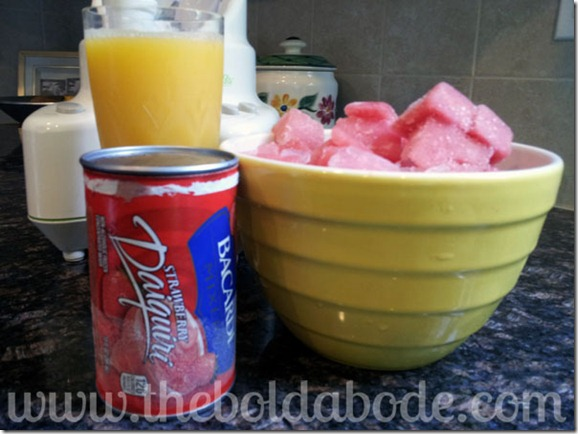Watermelon Smoothie Ingredients