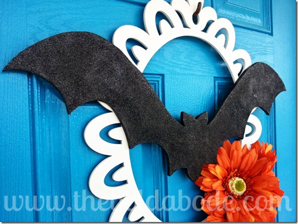 Bat Wreath Angle