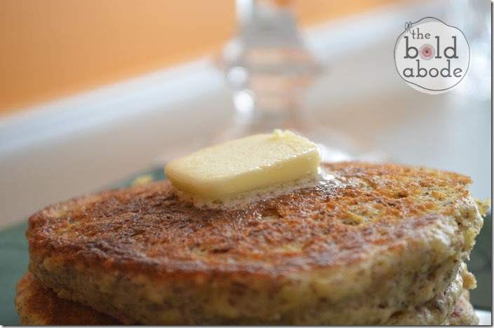 Metling Butter on the Gluten Free Pancakes