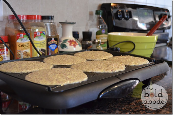 Pancakes on the Electric Griddle
